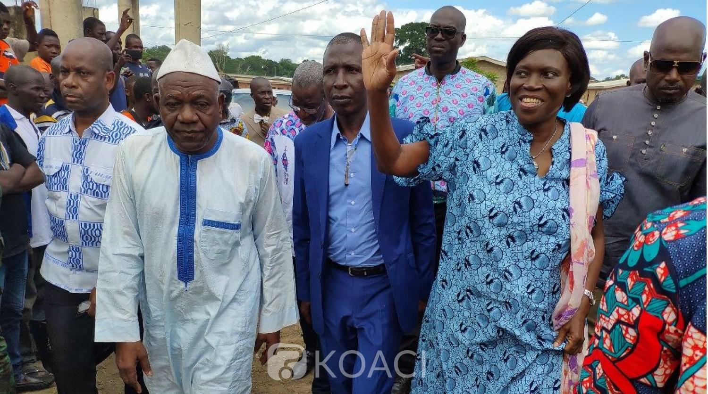 Côte d'Ivoire: A Gbetogo au nord,  Simone Gbagbo empêchée d'avoir accès au village de Fofana Youssoufou