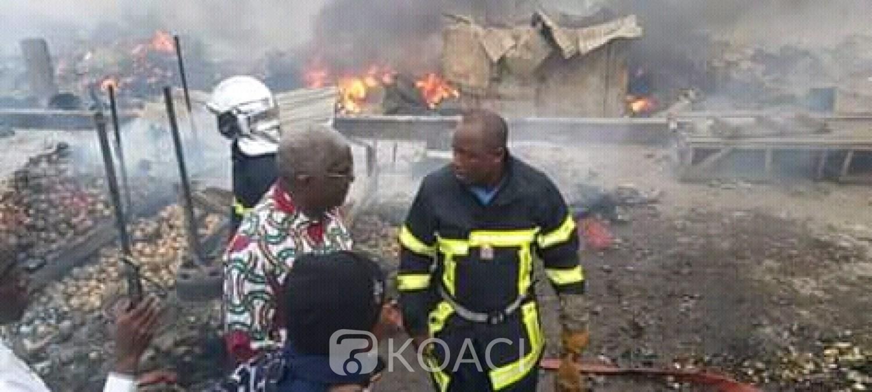 Côte d'Ivoire : Bouaké, suite à l'incendie du marché d'oignons, Djibo annonce l'ouverture d'une enquête