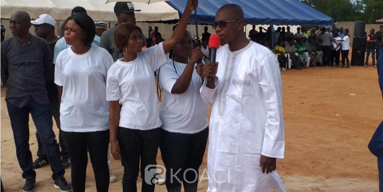 Côte d'Ivoire: A Séguéla, Issiaka Fofana du RACI remercie Simone pour ses actions en faveur de la réconciliation