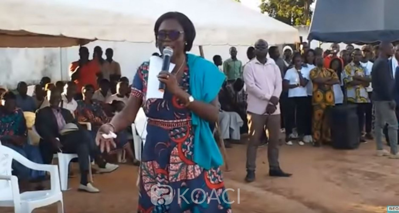 Côte d'Ivoire: A Séguéla, Simone Gbagbo appelle le Rhdp à ses côtés pour la réconciliation et martèle «il faut que les élections se déroulent cette fois-ci sans palabre»