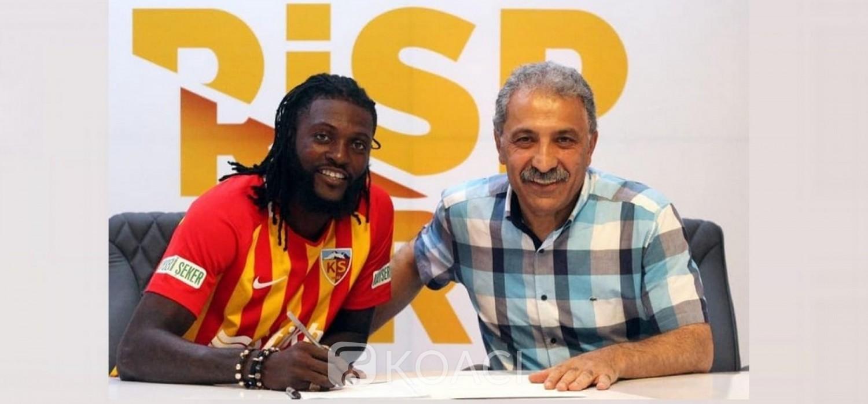 Togo : Adebayor rejoint Kayserispor en Turquie, son parcours et son attente