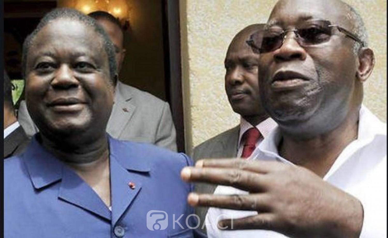 Côte d'Ivoire : Pour Adama Bictogo, Gbagbo est la bouée de sauvetage de Bédié,  qui tous deux sont des hommes du passé