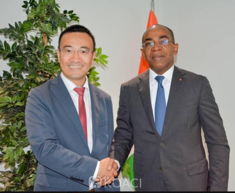 Côte d'Ivoire : Le géant Chinois Huawei veut renforcer sa corporation avec Abidjan dans le domaine de la transformation digitale