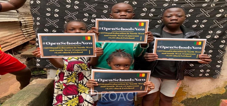 Cameroun : #OpenSchoolsNow, une campagne pour sauver l'école bat son plein, une première dans le pays