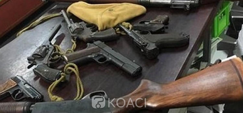 Ghana : Des armes à crimes tracées à partir de 4 pays ouest africains dont la Côte d'Ivoire