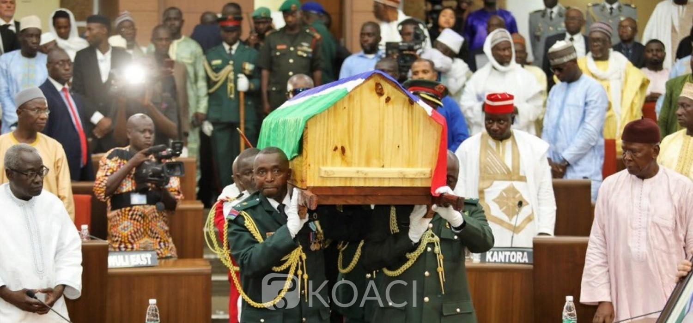 Gambie : L'ancien Président Dawda Jawara inhumé après des honneurs et funérailles nationales