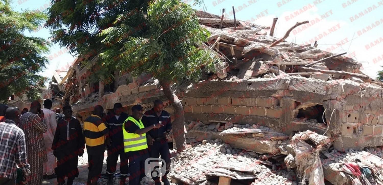 Mali: 15 morts dans l'effondrement d'un immeuble en chantier à Bamako