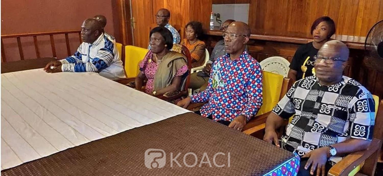 Côte d'Ivoire: A Daloa, Simone rencontre les partis alliés au FPI pour son meeting final, les questions liées à la CEI, la CNI et au redécoupage électoral au centre des échanges