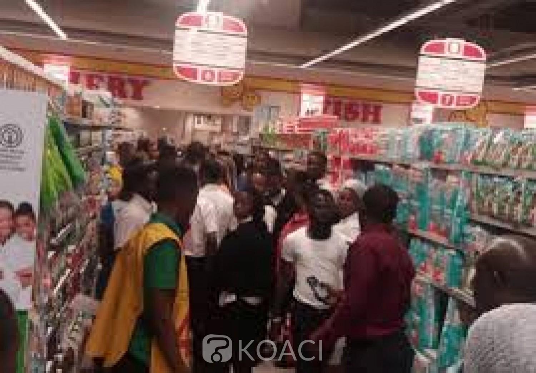 Nigeria-Afrique du Sud : En réponse aux attaques xénophobes, des installations de MTN et des supermarchés attaqués à Lagos