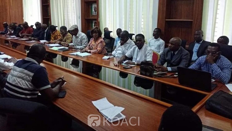 Côte d'Ivoire: 2020, meeting conjoint  PDCI-FPI, réunion technique d'organisation au siège du plus vieux parti des deux états-majors