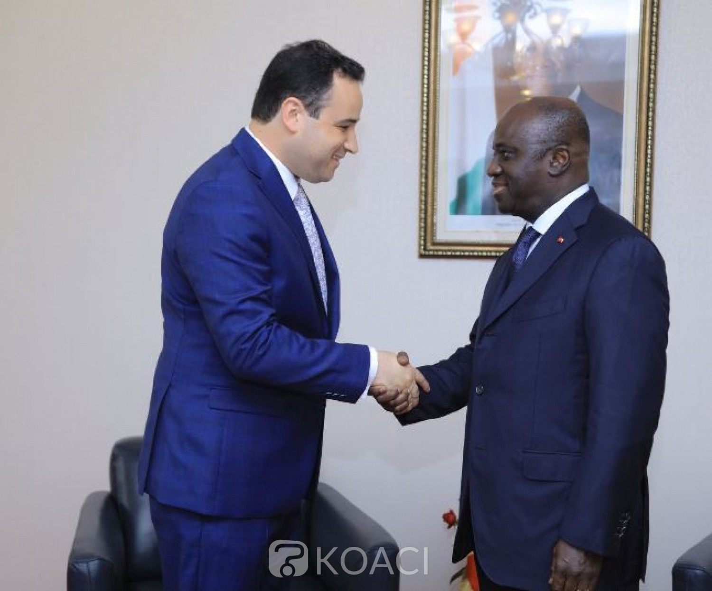 Côte d'Ivoire : Quatre  nouveaux Ambassadeurs ont présenté les copies figurées de leurs lettres créances à Amon Tanoh