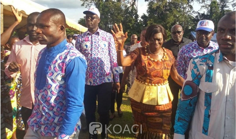 Côte d'Ivoire: A Daloa l'ex-première dame formelle «en 2020, le FPI sera aux élections, toutes les élections»