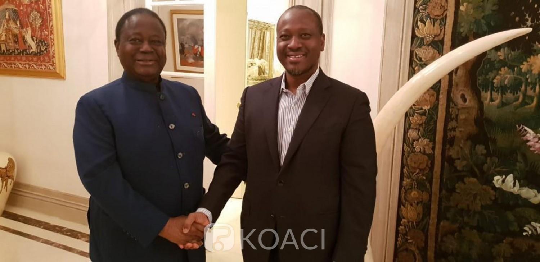 Côte d'Ivoire: «Chaleureuses retrouvailles» à Paris entre Bédié et Soro