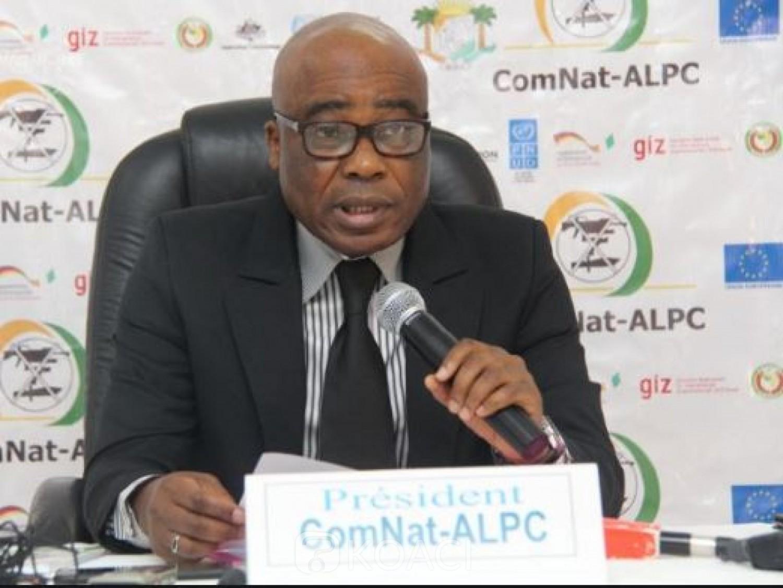 Côte d'Ivoire : Avant 2020, le président de la COMNAT-ALPC,  Kouadio Yao : «   Il urge de démarrer le marquage des armes des civils »