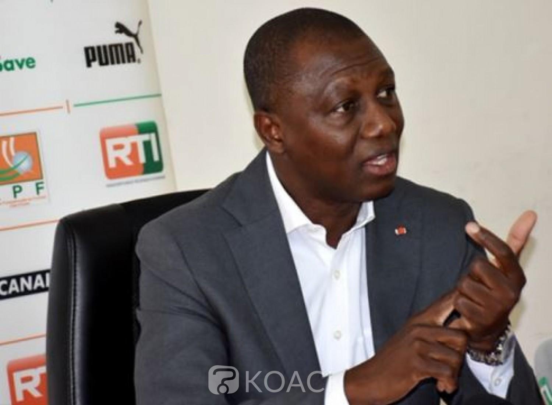 Côte d'Ivoire : La FIFA a octroyé  plus de 700 millions de FCFA à la FIF, révèle Sory Diabaté