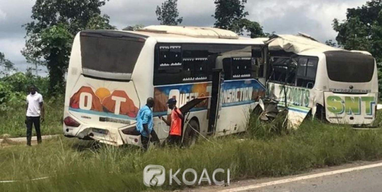 Côte d'Ivoire: Un décès dans une collision entre deux cars sur l'autoroute du nord