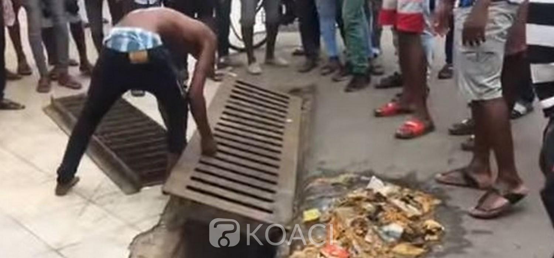 Ghana : Corvée pour un voleur pris en flagrant délit à Accra
