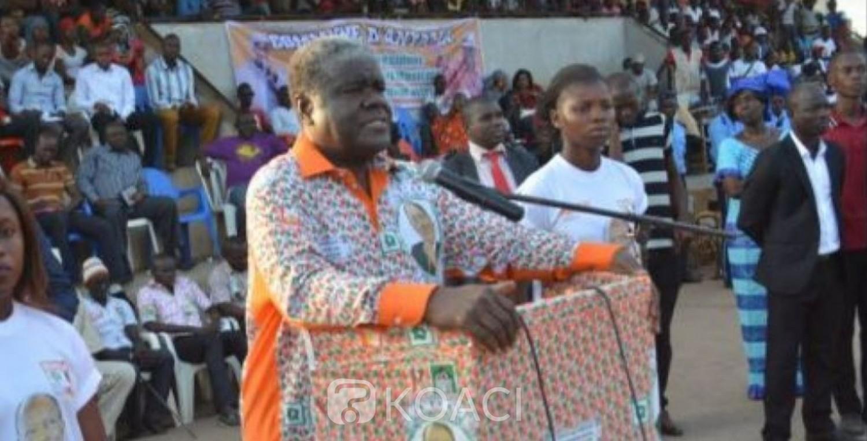 Côte d'Ivoire: Depuis Songon, Beugré Mambé « réaffirme » son appartenance au RHDP