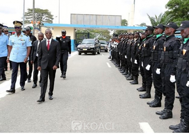 Côte d'Ivoire : Face aux nouvelles recrues de la police, le ministre  Vagondo Diomandé partage sa vision  à la tête de  son département