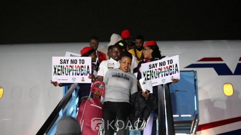 Nigeria-Afrique du Sud: 189 nigérians de retour au bercail suite aux violences xénophobes