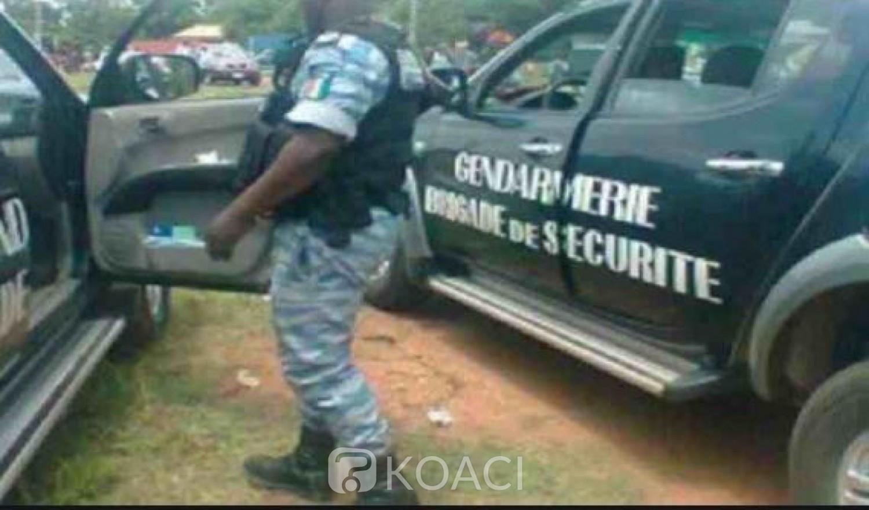 Côte d'Ivoire: Un gendarme percute une policière dans l'exercice de sa  fonction, le Commandant Supérieur de la gendarmerie avisé