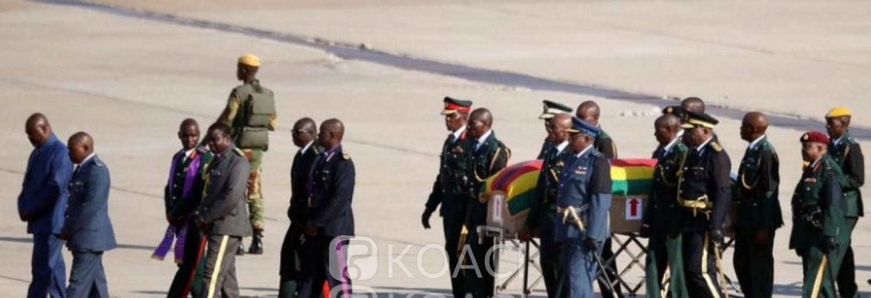 Zimbabwe: Robert Mugabe sera finalement enterré au champ des «héros de l'indépendance»