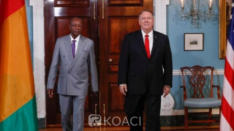 Guinée-USA: Alpha Condé appelé à respecter la  «transition démocratique»