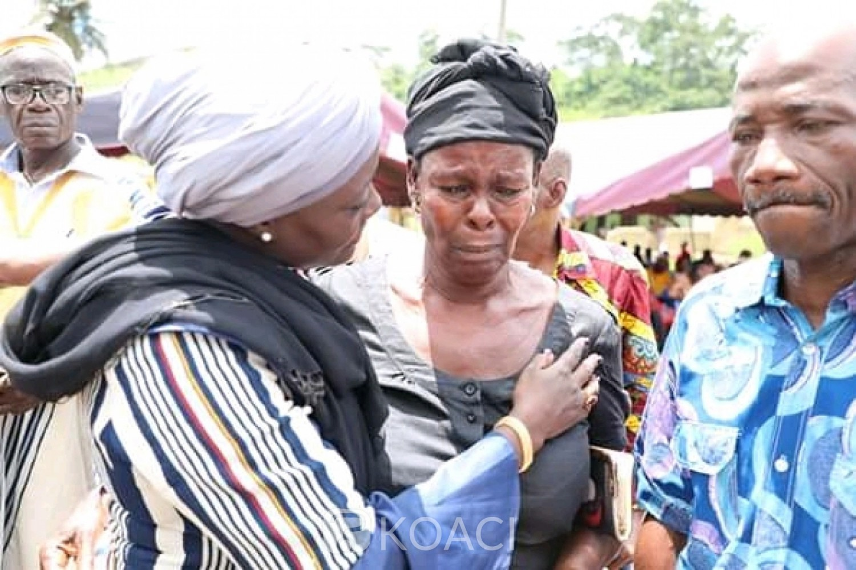 Côte d'Ivoire : Indemnisant 212 victimes des crises à Guitrozon,   Mariatou Koné déclare, « faisons-en sorte qu'il n'y ait pas de mort pour 2020 »