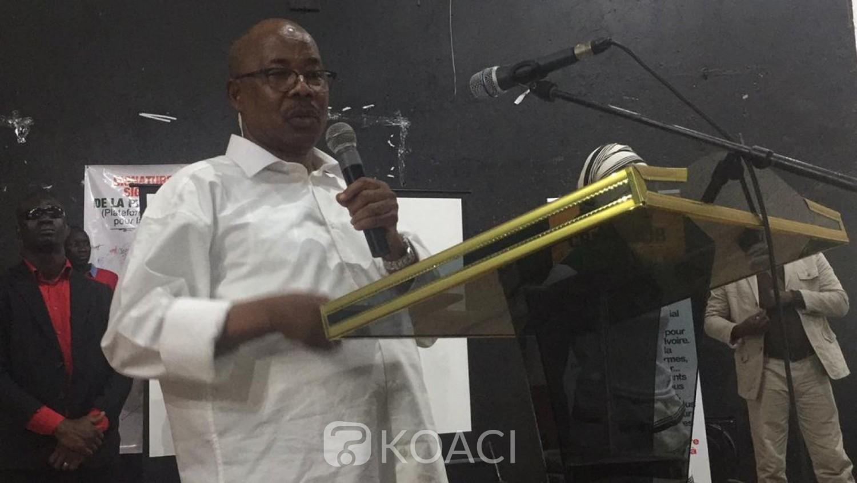 Côte d'Ivoire: Depuis Abobo, Babily Dembelé « ceux qui pensent qu'ils vont avoir le pouvoir par les armes, c'est terminé, nous allons les combattre»