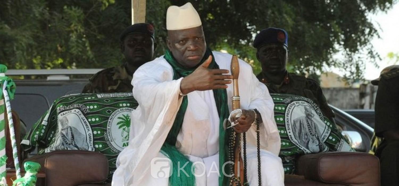 Gambie : Justice, poursuite envisagée contre Jammeh en attendant l'avis du parlement