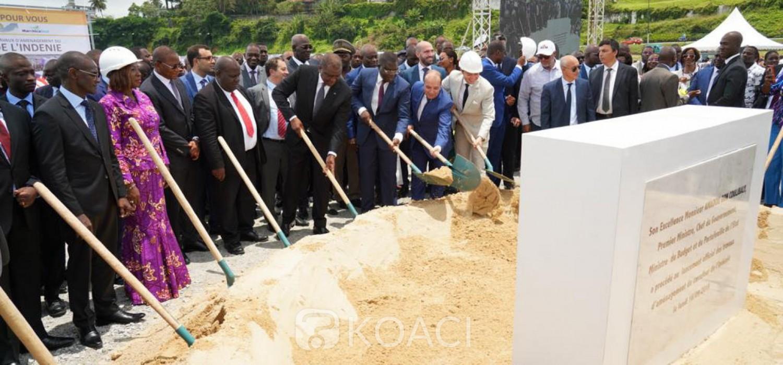 Côte d'Ivoire :   Hamed Bakayoko lance les travaux d'aménagement du carrefour de l'indenié d'un coût de réalisation de 24 milliards FCFA pour une durée de 21 mois