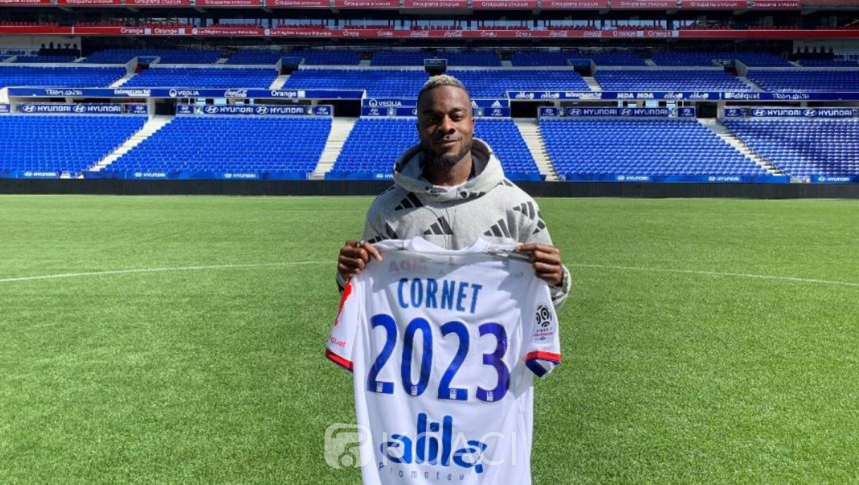 Côte d'Ivoire: Maxwel Cornet prolonge avec Lyon jusqu'en 2023