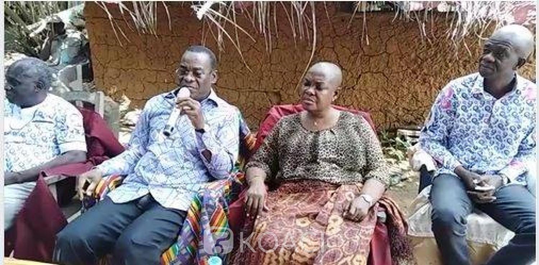 Côte d'Ivoire: Dans le Gbôklè, ce qu'a dit Affi  d'une possible  candidature de Gbagbo en 2020