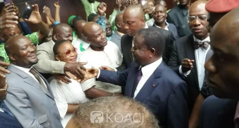 Côte d'Ivoire: De retour de Paris, Bédié appelle ses militants à la détermination pour des actions de terrain