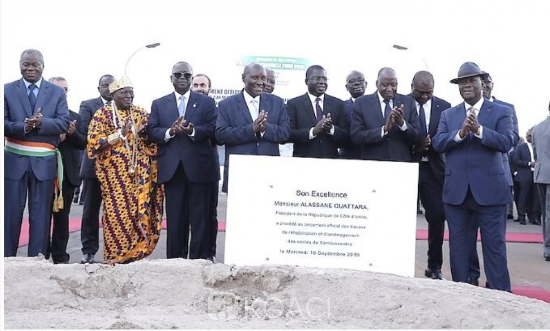 Côte d'Ivoire: Annonce des grands chantiers par Ouattara à Yakro, réaction du   maire Grangbe Kouacou