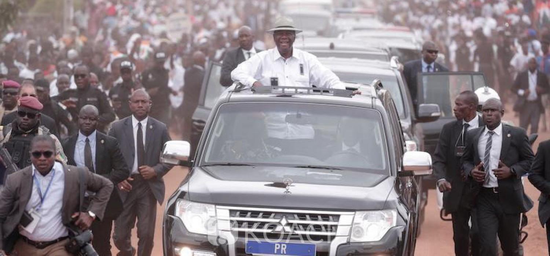 Côte d'Ivoire: Décès de Chirac, Ouattara salue la mémoire d'un grand ami d'Houphouët