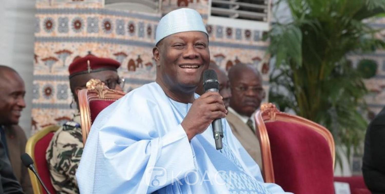 Côte d'Ivoire: Depuis sa ville natale, devant les chefs coutumiers et religieux, Alassane Ouattara évoque sa possible candidature en 2020