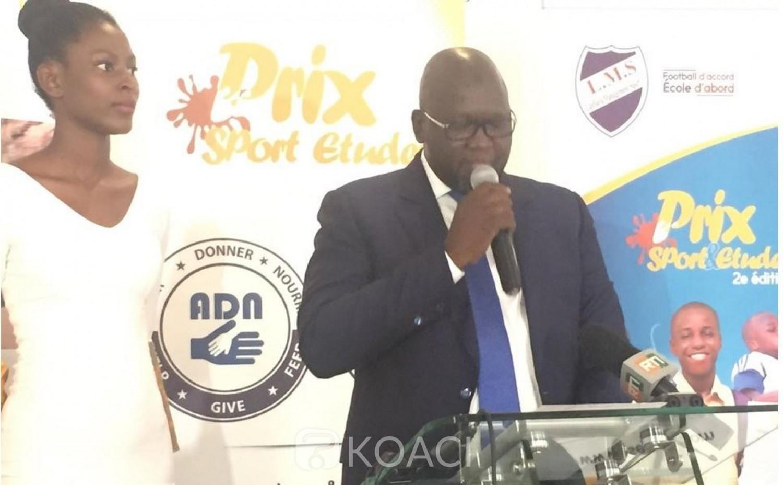 Côte d'Ivoire: 2ème édition des « prix sport études », des grosses têtes du monde sportif à Abidjan pour célébrer l'évènement