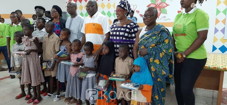 Côte d'Ivoire: Bouaké, pour faire face à la rentrée des classes,  des familles défavorisées bénéficient des kits scolaires