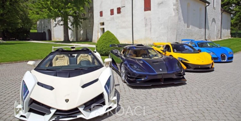 Guinée Equatoriale-Suisse: 25 voitures de luxe de Téodorin Obiang vendues aux enchères, estimation à plus de 17 millions d'euros