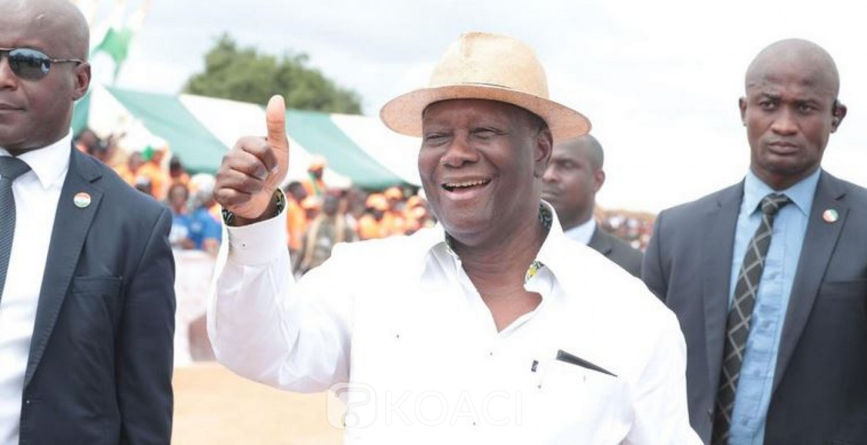 Côte d'Ivoire :  Depuis Dimbokro, Ouattara rend hommage à Bédié et s'explique sur les options de modifications de la constitution