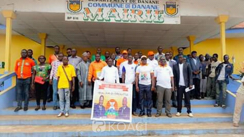 Côte d'Ivoire: Danané, parti du RACI-TONKPI,  Ernest Guiagon lance un mouvement RHDP et déclare, « 2020 c'est déjà bouclé et cadenassé... »