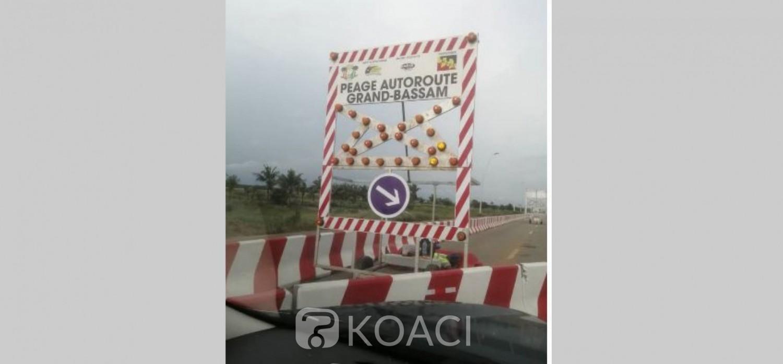 Côte d'Ivoire: Un poste à péage en construction près du Lycée d'Excellence de Grand Bassam