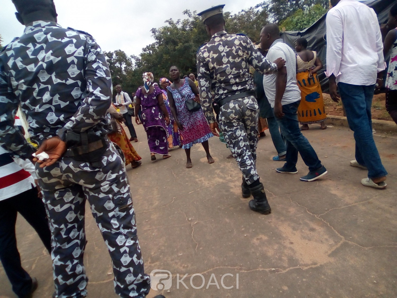 Côte d'Ivoire : Bouaké, situation tendue à la gendarmerie, la libération du président du conseil régional exigée