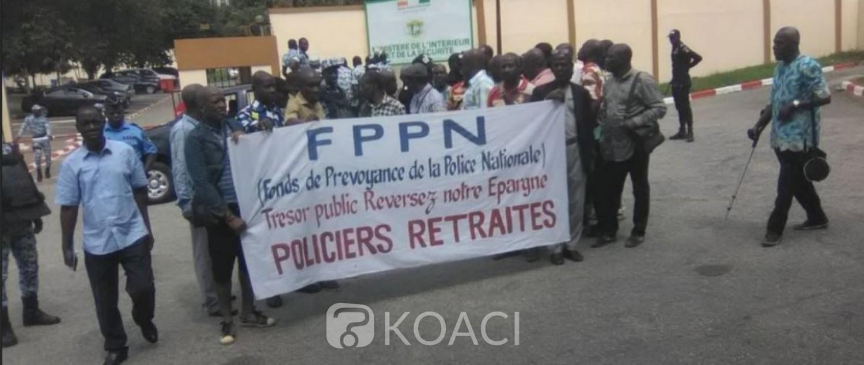 Côte d'Ivoire:  Après leur sit-in, des policiers retraités décident de porter plainte contre le Fonds de prévoyance pour le non paiement de leur cotisation