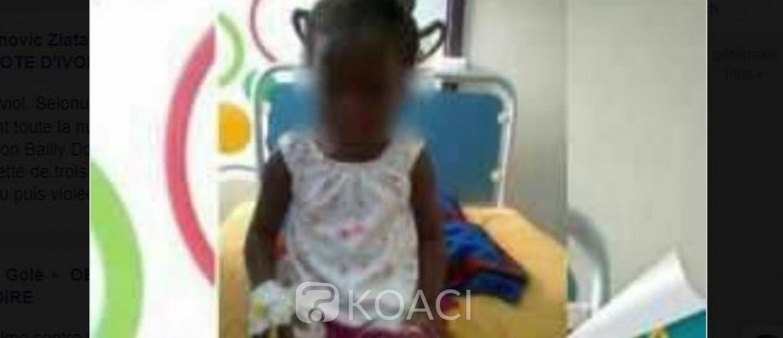Côte d'Ivoire: Grâce, une fillette de 3 ans violée à Dimbokro a trouvé la mort ce jour au CHU de Cocody