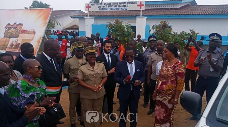 Côte d'Ivoire :  CMU, à 24 heures du démarrage de la phase généralisée, Aka Aouélé annonce la disponibilité d'environ 90 centres de santé sur le territoire national