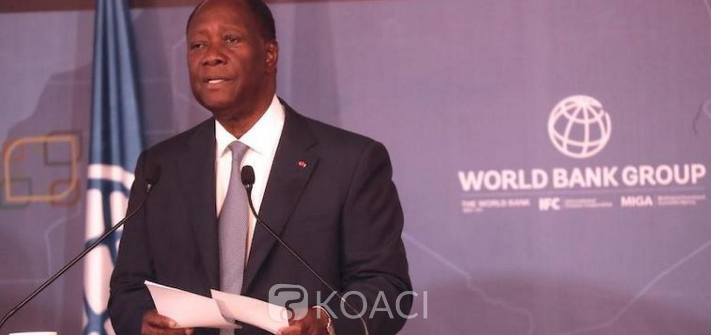 Côte d'Ivoire: Comment financer durablement notre développement ? Les réponses d'Alassane Outtara face à la Banque Mondiale