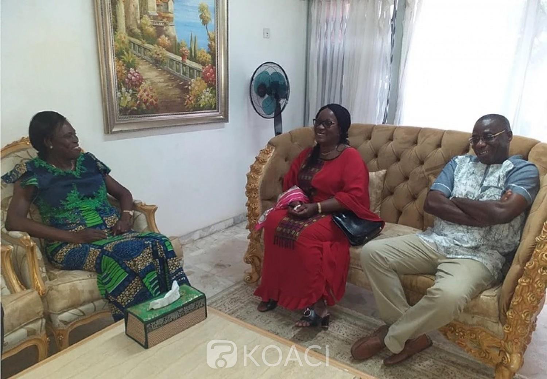 Côte d'Ivoire: De retour d'exil, Emmanuel Monnet accompagné de son épouse, chez Simone, voici ce qu'il confie