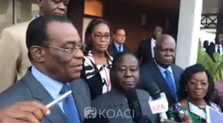 Côte d'Ivoire: Bédié reçoit Affi ce jour après des mois de brouilles, porteur d'un message de Gbagbo ?